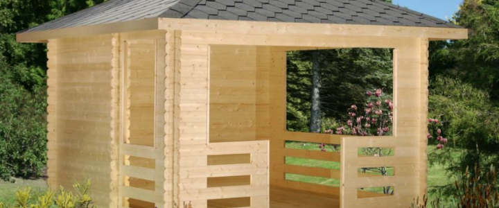 Se zahradním domkem, altánem nebo pergolou bude vaše zahrada kompletní