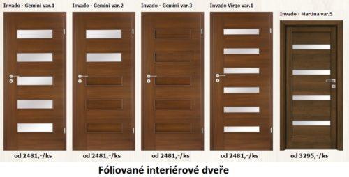Fóliované dveře patří k nejlevnějším, zdroj: plancher.cz