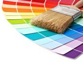 Jaké jsou rozdíly v interiérových barvách pro malování pokoje?