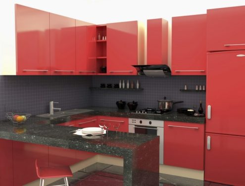 Úklid kuchyně, zdroj: shutterstock.com